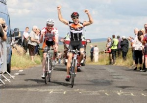 McCullagh wins stage, Moore wins race.
