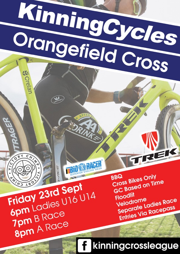 kinning cycles orangefield cross