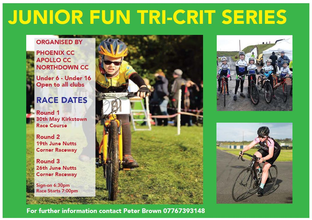Fun Crit Series For Youth Tomorrow Night | Ulster Cycling News